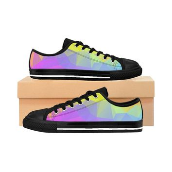 Rainbow Row Men's Sneakers