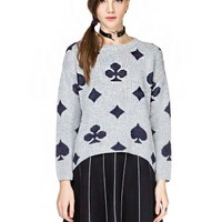 Poker Face Sweater