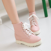 Lace Up Ankle Boots Women Shoes Fall|Winter 4244