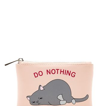Do Nothing Club Coin Purse