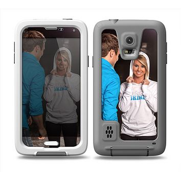 The Add Your Own Image Custom Skin for Samsung Galaxy S5 frē LifeProof Case