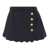 Scalloped Mini Skirt | Moda Operandi