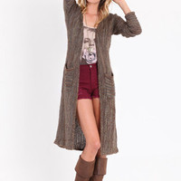 Tread Lightly Duster Sweater Cardi - $59.00 : ThreadSence.com, Your Spot For Indie Clothing  Indie Urban Culture