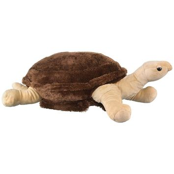 "31"" Galapagos Tortoise Stuffed Animals Floppy Zoo Animal Conservation Collection"