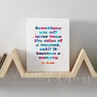 Dr. Seuss Quote 2 Gallery Wrapped Canvas