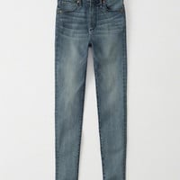 Womens High-Rise Super Skinny Jeans | Womens New Arrivals | Abercrombie.com