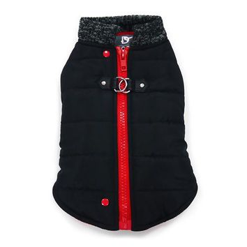 Runner Dog Coat by Dogo - Black