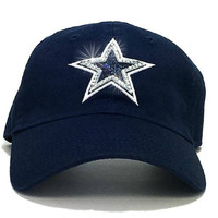 Dallas Cowboys '47 Brand Adjustable Cap + Swarovski Crystals