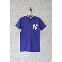 Vintage New York Yankees Henley Tee