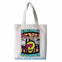 5 Second of summer awesome fashion shopping tote bag