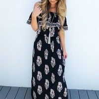 When You're Close Maxi: Navy/Multi