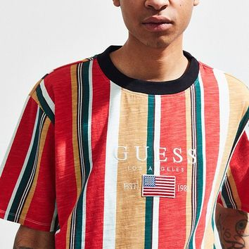 GUESS David Sayer Stripe Tee | Urban Outfitters