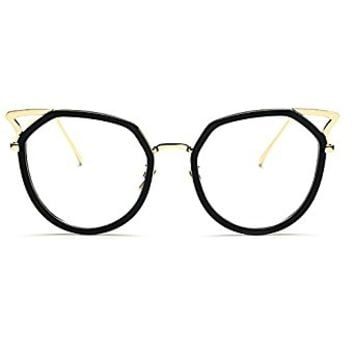 TIJN New Chic Full-rim Cat Ear Glasses Frames for Women T-312