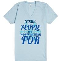 Frozen-Unisex Light Blue T-Shirt