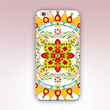 Bright Mandala Phone Case  - iPhone 6 Case - iPhone 5 Case - iPhone 4 Case - Samsung S4 Case - iPhone 5C - Tough Case - Matte Case