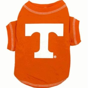 DCCKGW6 Tennessee Volunteers Dog Tee Shirt