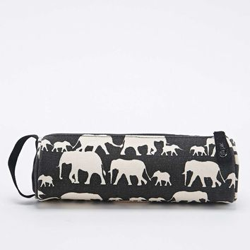 Mi-Pac Black Elephant Pencil Case - Urban Outfitters