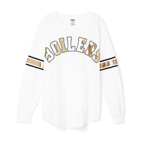 Purdue University Limited Edition Varsity Crew - PINK - Victoria's Secret