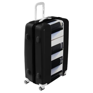 Piano Keys Luggage