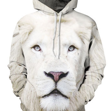 Fashion lion hooded shirts women men printed 3d hoodies Casual graphic hoodie funny Sweat shirt tie-dye Sweatshirt tops