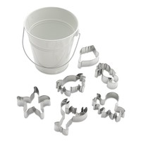 Williams-Sonoma Sea Cookie Cutter Set in Pail