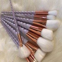 Unicorn Makeup Brush Set (10-Piece)