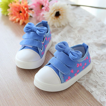 Children's Canvas Shoes New Spring Autumn Toddler Kids Fashion Boys & Girls Brand Sneakers Size 21-30 Chaussure Enfant 448