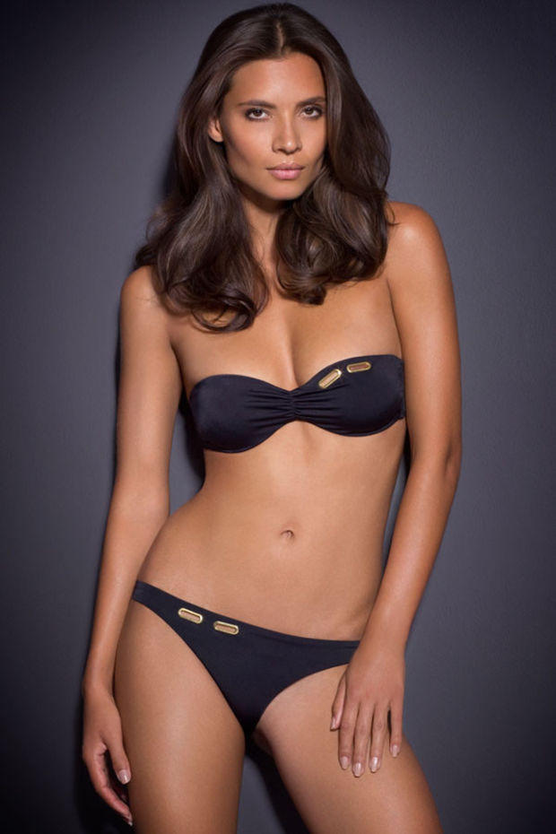 Karla Colletto Swimwear Reviews Low Rise Black B...
