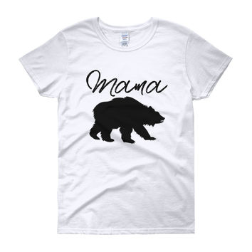 Mama Bear t-shirt, FREE SHIPPING