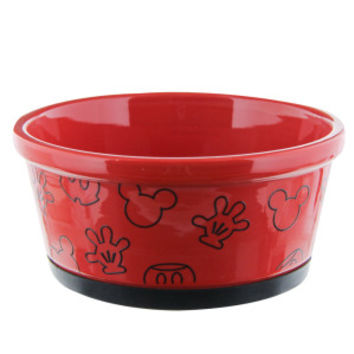 Disney Ceramic Mickey Assorted Dog Bowl - Ceramic - Bowls & Feeding Accessories - PetSmart