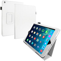 White Folio Stand Case Cover for Apple iPad Air