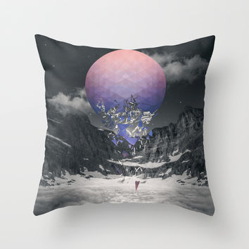 Fall To Pieces III Throw Pillow by Soaring Anchor Designs   Society6