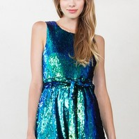 Mermaid Sequin Romper*