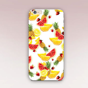 Summer Fruits Phone Case - iPhone 6 Case - iPhone 5 Case - iPhone 4 Case - Samsung S4 Case - iPhone 5C - Tough Case - Matte Case - Samsung