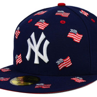 New York Yankees MLB All Flags 59FIFTY Cap