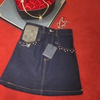 Louis Vuitton  Women Fashion Skirt