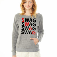 SWAG ladies sweatshirt