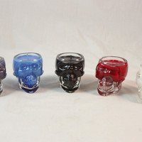Crystal Skull Vodka Candle, Skull Candle Made to Order