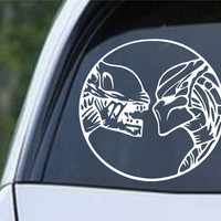 Aliens vs Predator AVP Die Cut Vinyl Decal Sticker