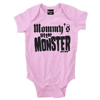 Infant's Mommy's Little Monster Onesuit by Cartel Ink