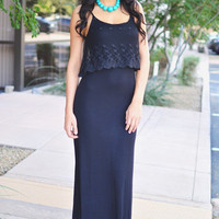 Closet Candy Boutique · Fits Like a Glove Maxi - Black