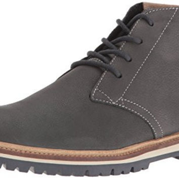LACOSTE MENS MONTBARD 416 1 FASHION SNEAKER CHUKKA BOOT, DARK GREY, 10 M US