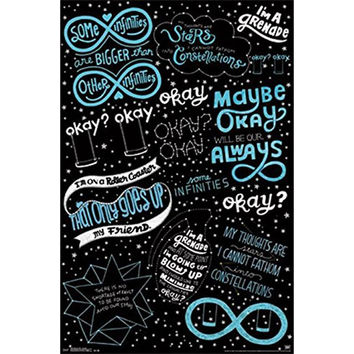 Fault In Our Stars - Love Note 22x34 Standard Wall Art Poster