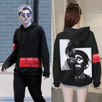 Pullover Hats Hoodies Couple Jacket [17371463699]