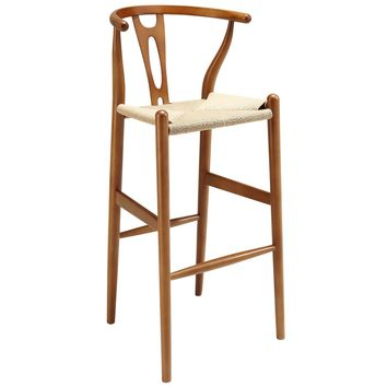 Hans Wegner style Wishbone Bar Chair