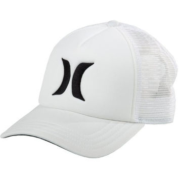 Hurley Juniors One and Only YC Trucker Hat, White, One Size