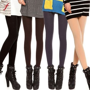 Fashion Tights Women Velvet Pantyhose Women Female Bottoming Tights Collant Femme A02