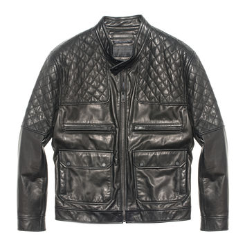 Andrew Marc - Alec - Quilted Leather Jacket