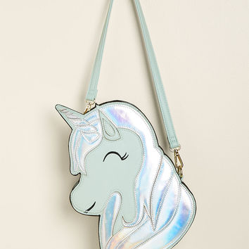 Banned Mane Attraction Unicorn Crossbody Bag