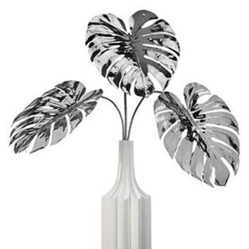 Faux Split Philo Leaf - Set of 3 | Stemmed Floral | Floral, Plants, & Trees | Decor | Z Gallerie